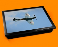 Spitfire Supermarine Plane Cushion Lap Tray