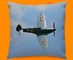 Spitfire Supermarine Plane Sofa Cushion