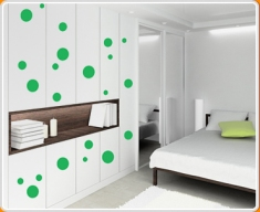 Spots and Dots Set Wall Sticker