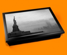 Statue Of Liberty Cushion Lap Tray