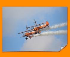 Stearman x2 Boeing Plane Poster