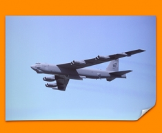 Stratofortress Boeing Plane Poster