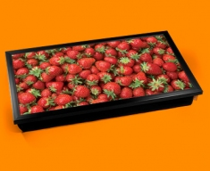Strawberries Laptop Lap Tray