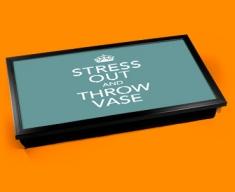 Stress Out Keep Calm Laptop Lap Tray