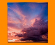 Sunset Clouds Napkins (Set of 4)