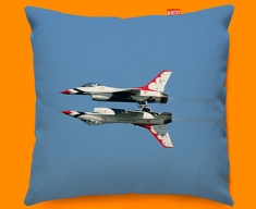 Thunderbirds Plane Sofa Cushion