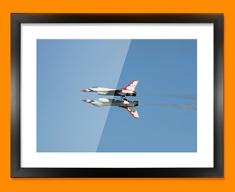 Thunderbirds Plane Framed Print