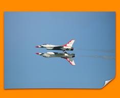 Thunderbirds Plane Poster