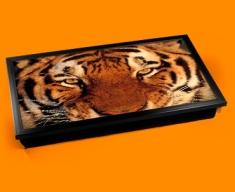 Tiger Face Laptop Computer Lap Tray