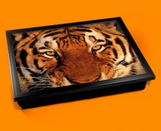 Tiger Face Cushion Lap Tray