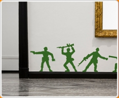 Toy Soldiers Wall Sticker