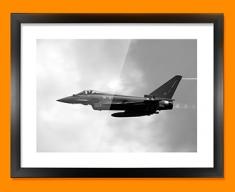 Typhoon BAE Eurofighter Plane Framed Print