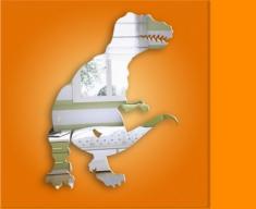 Tyrannosaurus Dinosaur Mirror