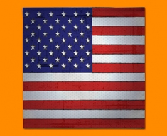 USA Flag Napkins (Set of 4)