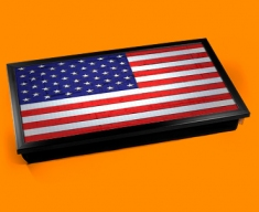 USA Flag Laptop Lap Tray