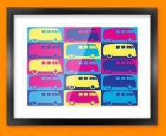 VW 2 Framed Print