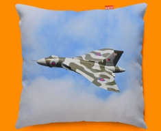 Vulcan Avro Plane Sofa Cushion