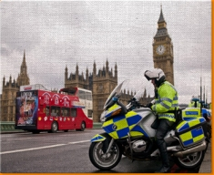 Westminster Police Canvas Art Print