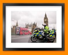 Westminster Police Framed Print