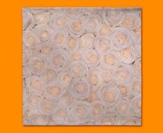White Roses Napkins (Set of 4)