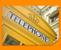 Yellow Phone Box Poster