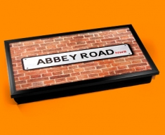 Abbey Rd Street Sign Laptop Computer Lap Tray