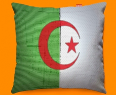 Algeria Flag Cushion 45x45cm