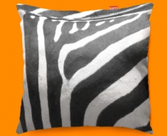 Animal Skin Zebra Funky Sofa Cushion 45x45cm