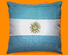 Argentina Flag Cushion 45x45cm