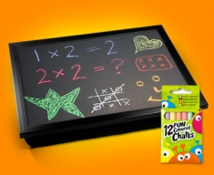 Blackboard Cushion Lap Tray