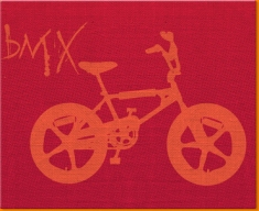 BMX Canvas Art Print