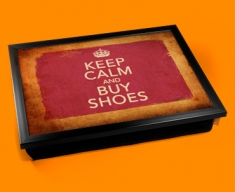 Buy Shoes Keep Calm Vintage Lap Tray