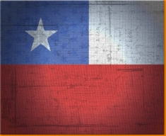 Chile Canvas Art Print