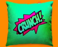 Comic CRUNCH Funky Sofa Cushion 45x45cm