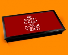 Custom Keep Calm Laptop Tray