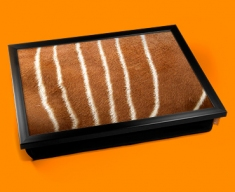 Deer Animal Skin Lap Tray