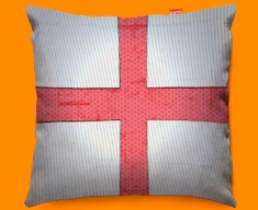 England Flag Cushion 45x45cm