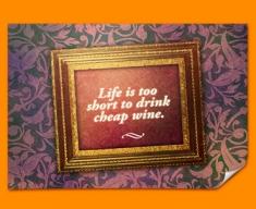 Life's Too Short Heart Warmer Poster