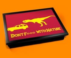 F*** Nature Cushion Lap Tray