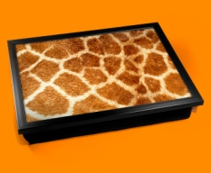 Giraffe Animal Skin Lap Tray