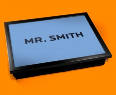 Personalised Custom His Name Lap Tray
