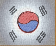 Korea Canvas Art Print