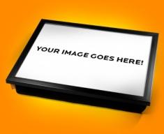 Personalised Photo Custom Cushion Lap Tray