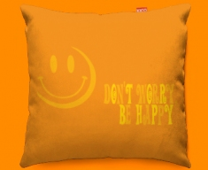 Be Happy Funky Sofa Cushion
