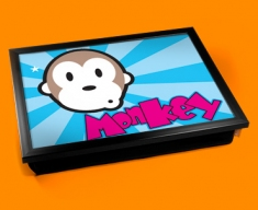Monkey Cushion Lap Tray