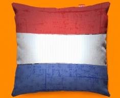 Netherlands Flag Cushion 45x45cm