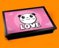 Panda Love Cushion Lap Tray