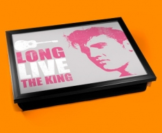 Pink Elvis Cushion Lap Tray
