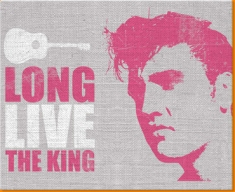 Pink Elvis Canvas Art Print