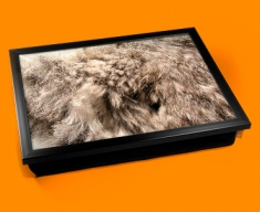 Rabbit Animal Skin Lap Tray